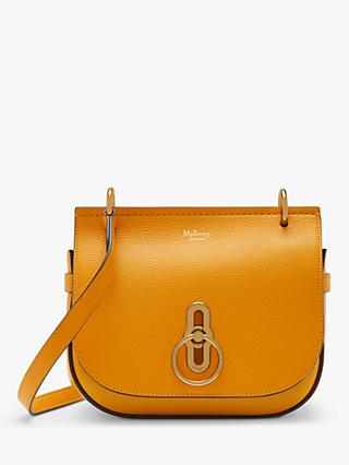 Mulberry Small Amberley Classic Grain Leather Satchel Bag