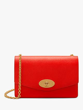 Mulberry Small Darley Small Printed Grain Leather Cross Body Bag