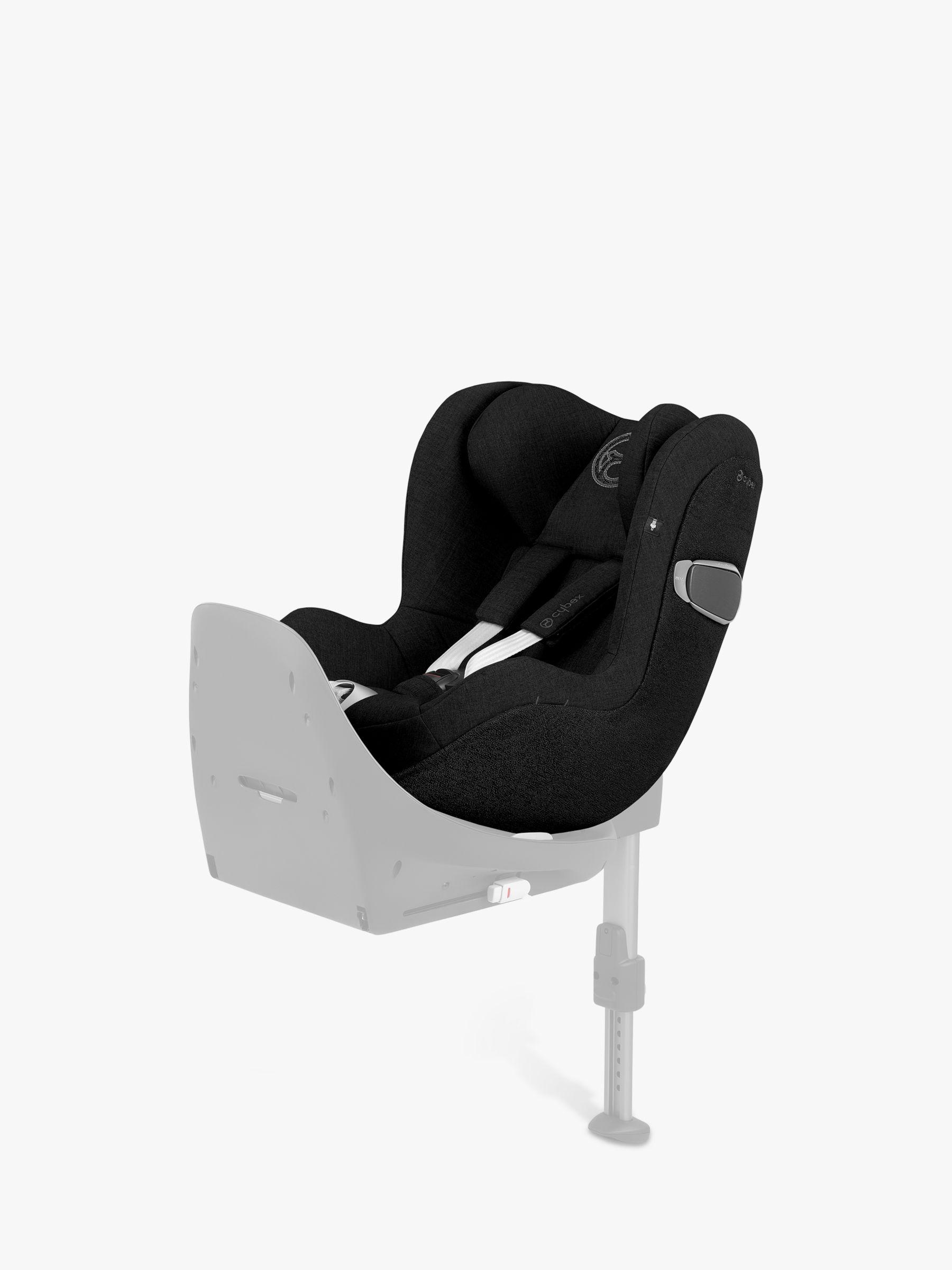 Cybex Cybex Sirona Z i-Size Group 0+/1 Car Seat, Deep Black