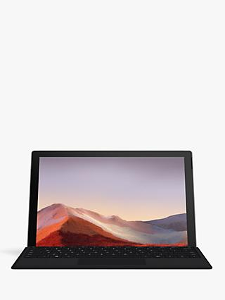 "Microsoft Surface Pro 7 Tablet, Intel Core i5 Processor, 8GB RAM, 128GB SSD, 12.3"" PixelSense Display with Platinum Surface Pro Signature Type Keyboard Cover"