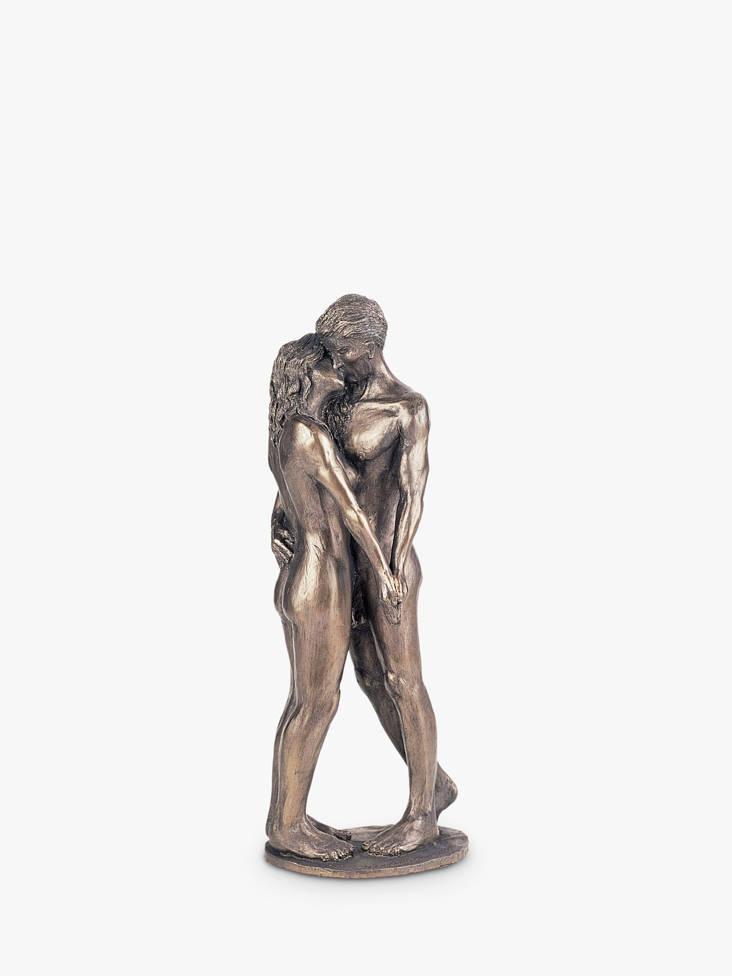Frith Sculpture Frith Sculpture Romantic Couple Kiss Figurine by Bryan Collins, Bronze