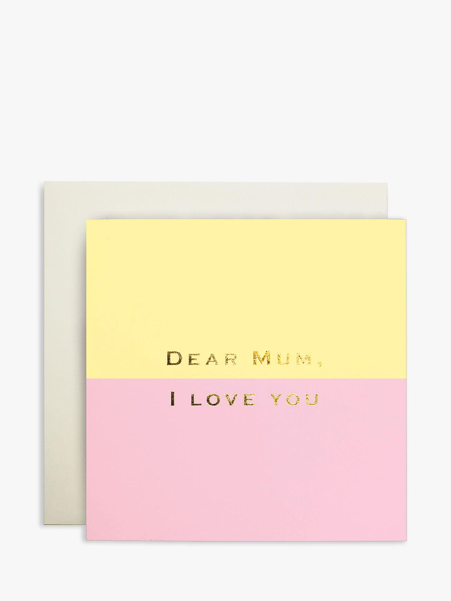 Susan O'Hanlon Susan O'Hanlon Dear Mum Mother's Day Card