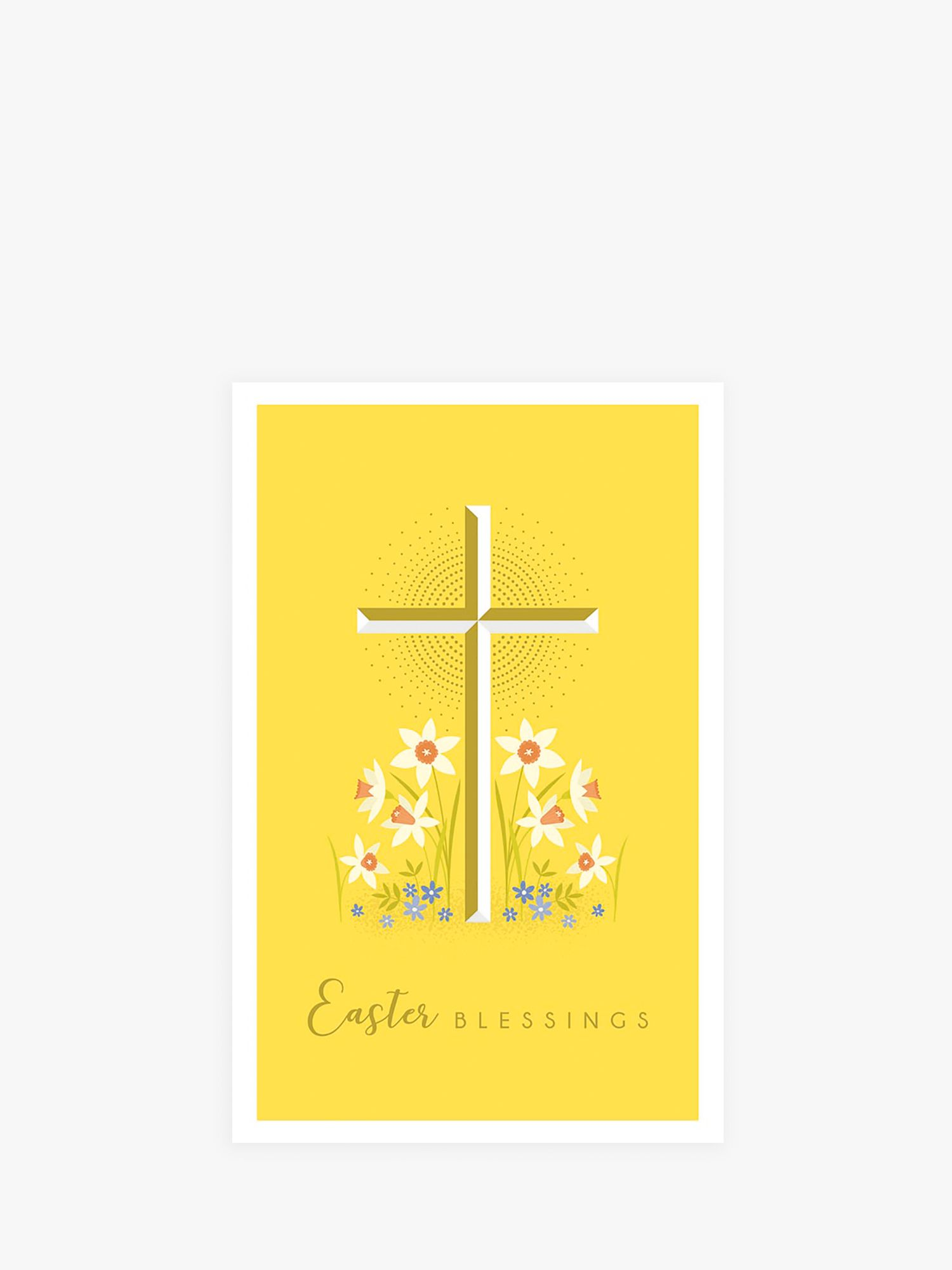 Art File Art File Cross Easter Cards, Pack of 6