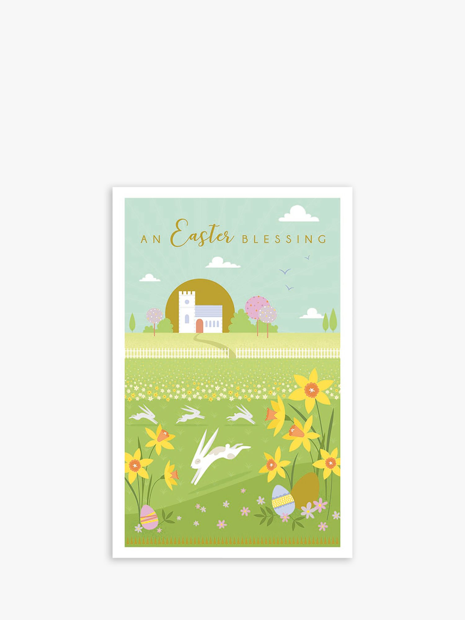 Art File Art File Church Blessings Easter Cards, Pack of 6