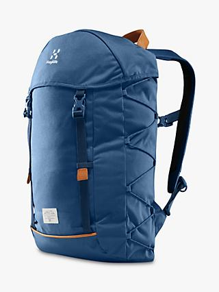 Haglöfs ShoSho 26L Backpack, Medium, Blue Ink