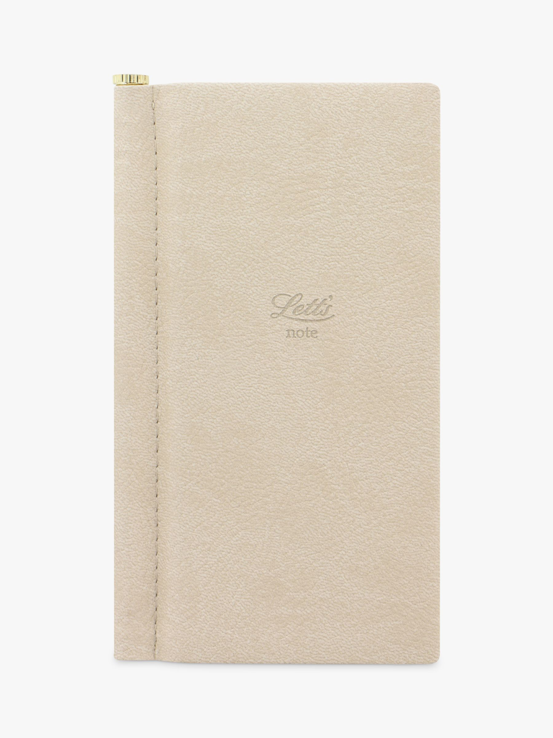 Letts Letts Slim Notebook with Pen