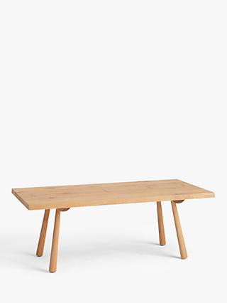 John Lewis & Partners Seam Coffee Table, Oak