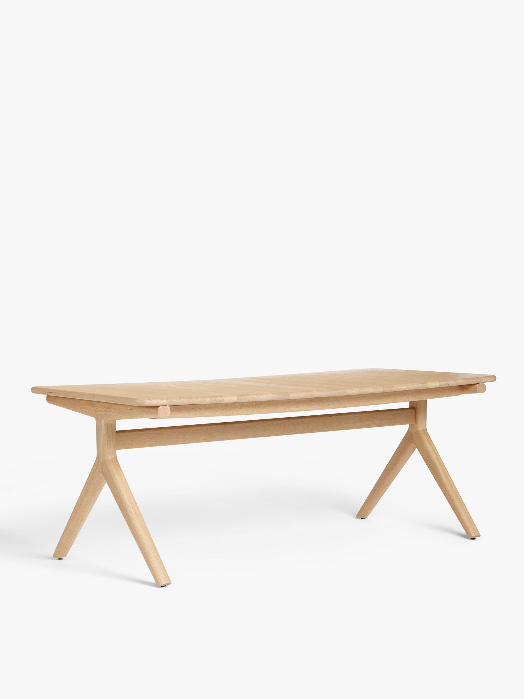 John Lewis & Partners Poise 6-10 Seater Extending Dining Table, Oak