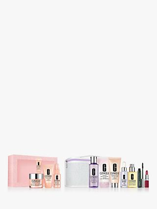 Clinique More Than Moisture Skincare Gift Set Bundle with Fan Favourites Set