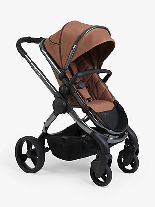 iCandy Peach Phantom Pushchair and Carrycot, Terracotta