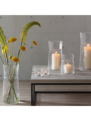 Buy LSA International Gio Lantern Candle Holder, H18.5 cm Online at johnlewis.com