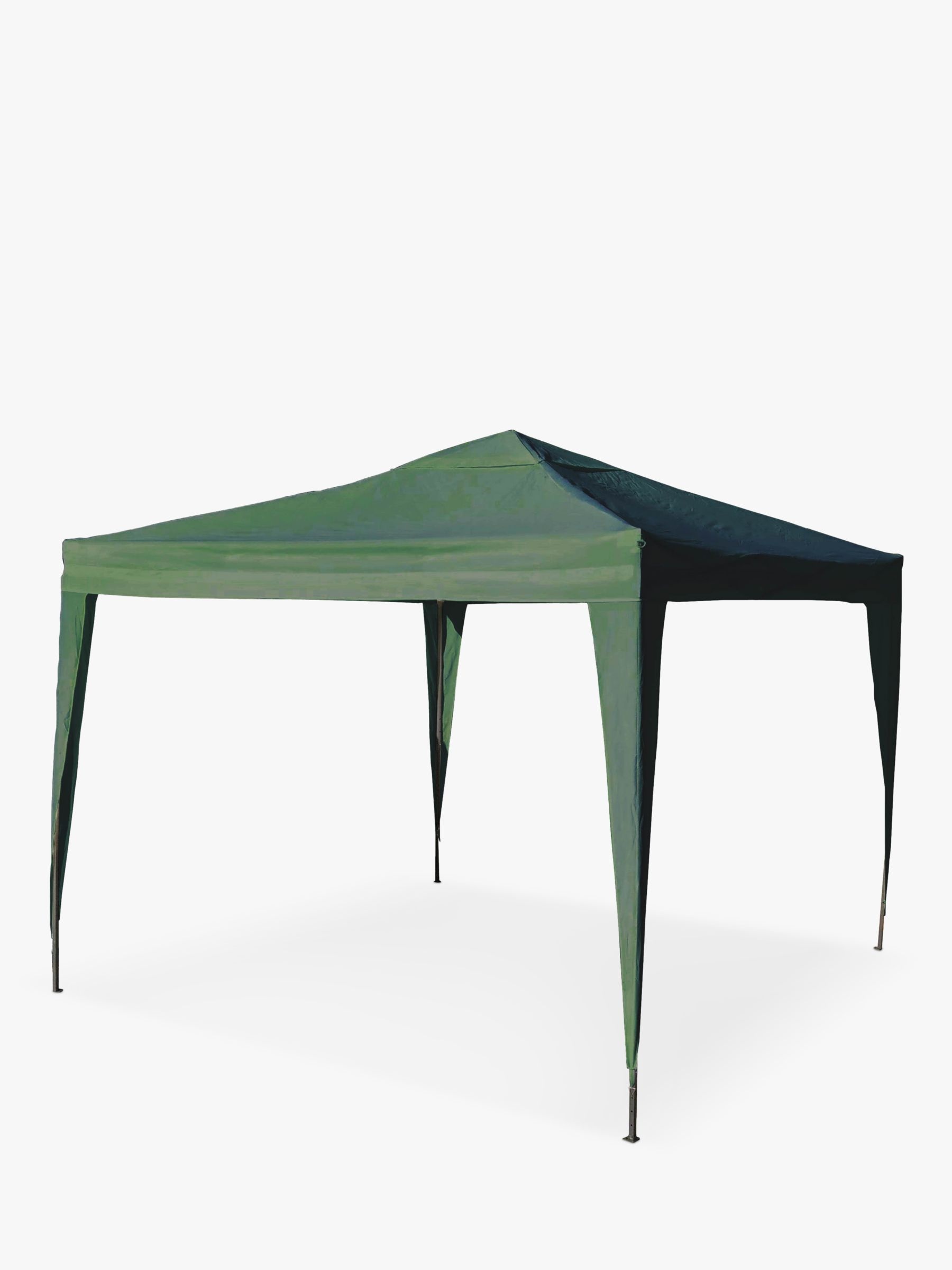 LG Outdoor LG Outdoor Hamilton Pop Up 3 x 3m Gazebo & Carry Case, Green