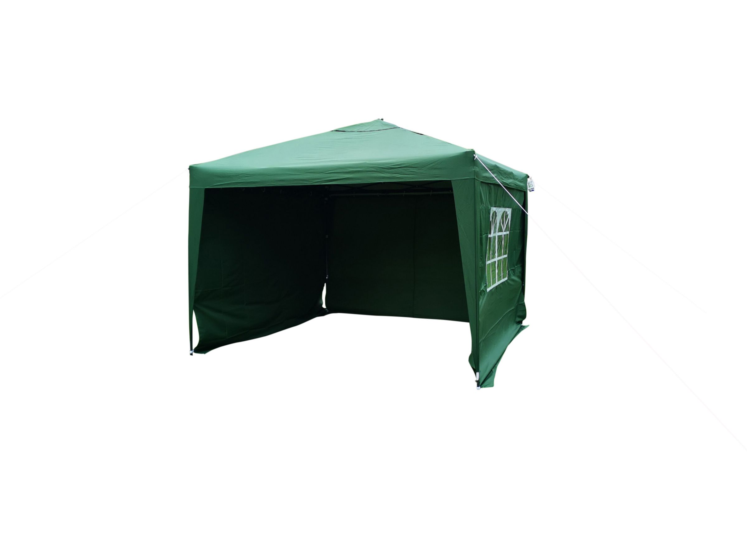 LG Outdoor LG Outdoor Hamilton Pop Up 3m Gazebo Side Walls, Green