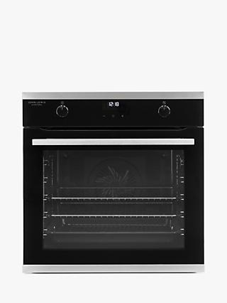 John Lewis JLBIOS641 Single Electric Oven, A Energy Rating, Black