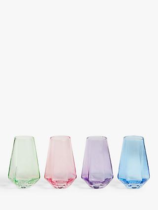 John Lewis & Partners Geometric Shot Glasses, Set of 4