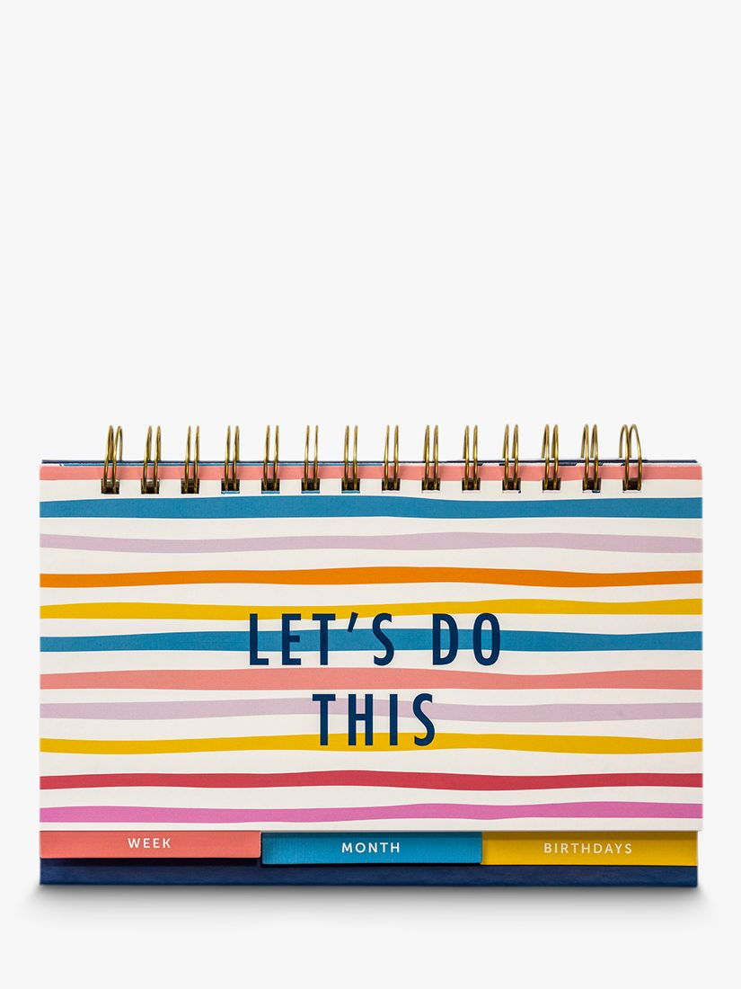 Busy B Let's Do This Week & Month Desktop Planner