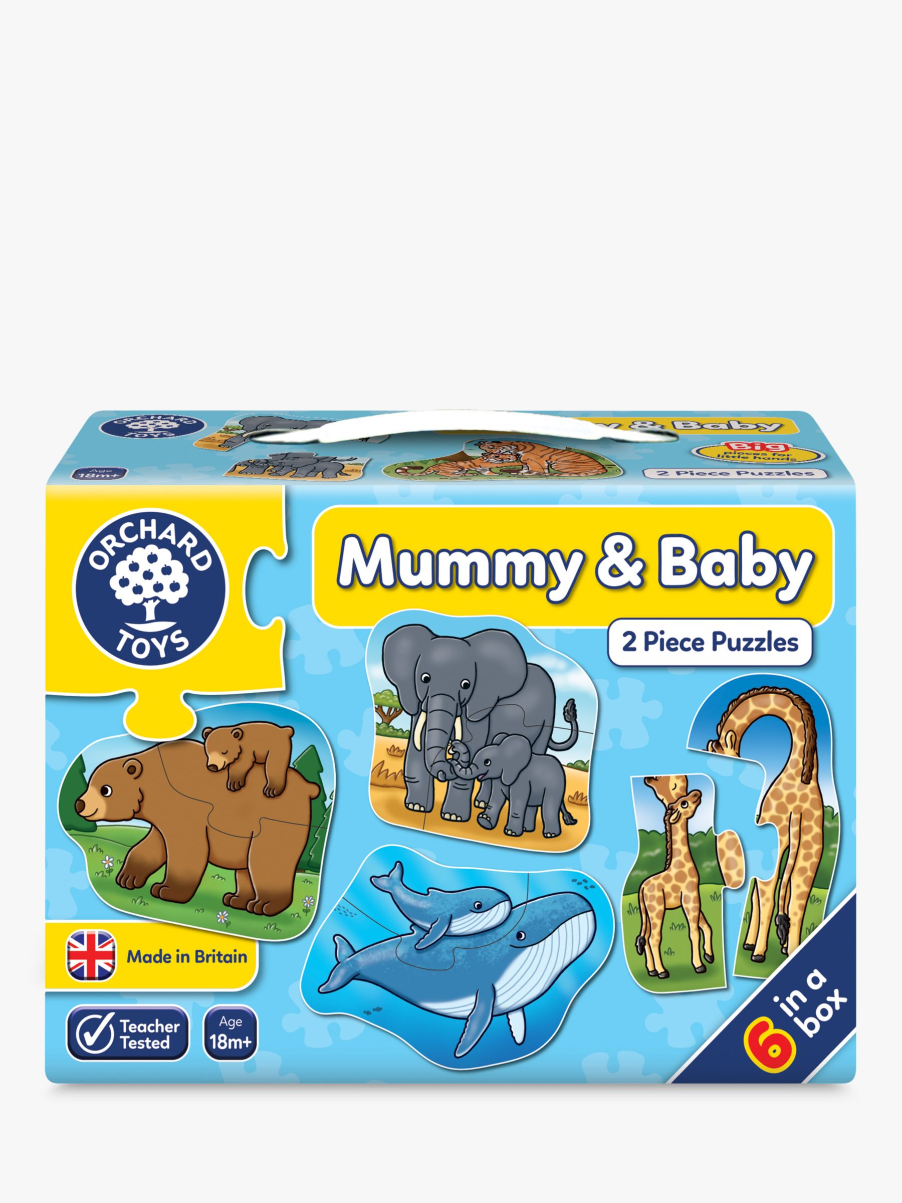 Orchard Toys Orchard Toys Mummy & Baby 2-Piece Puzzles