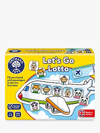 Orchard Toys Let's Go Lotto Game