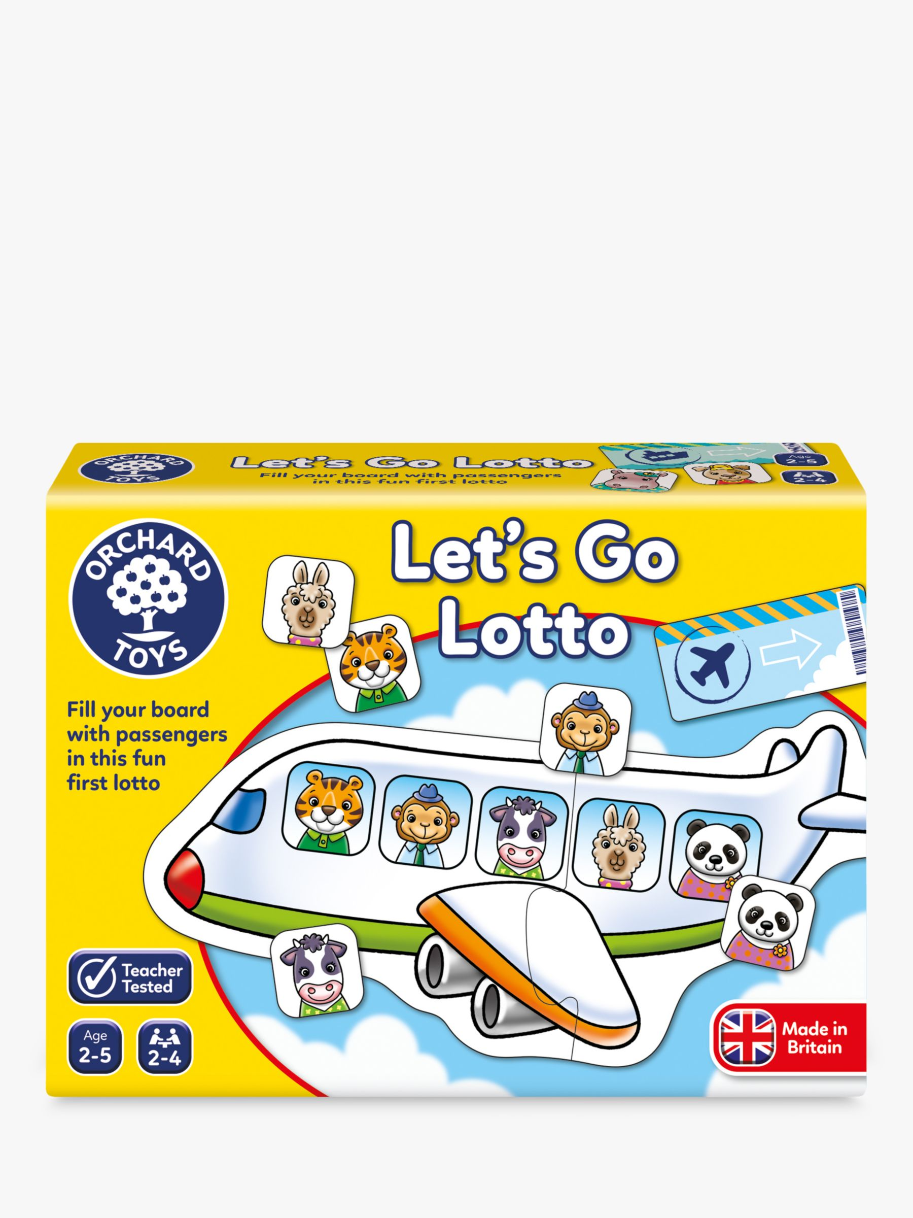 Orchard Toys Orchard Toys Let's Go Lotto Game