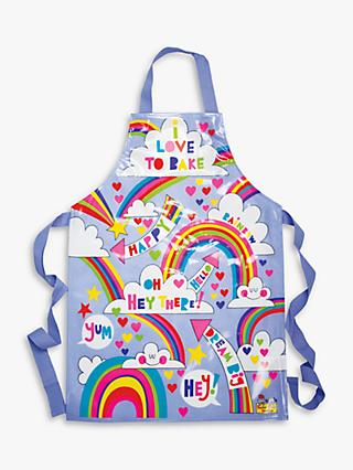 Rachel Ellen I Love to Bake Rainbows Apron