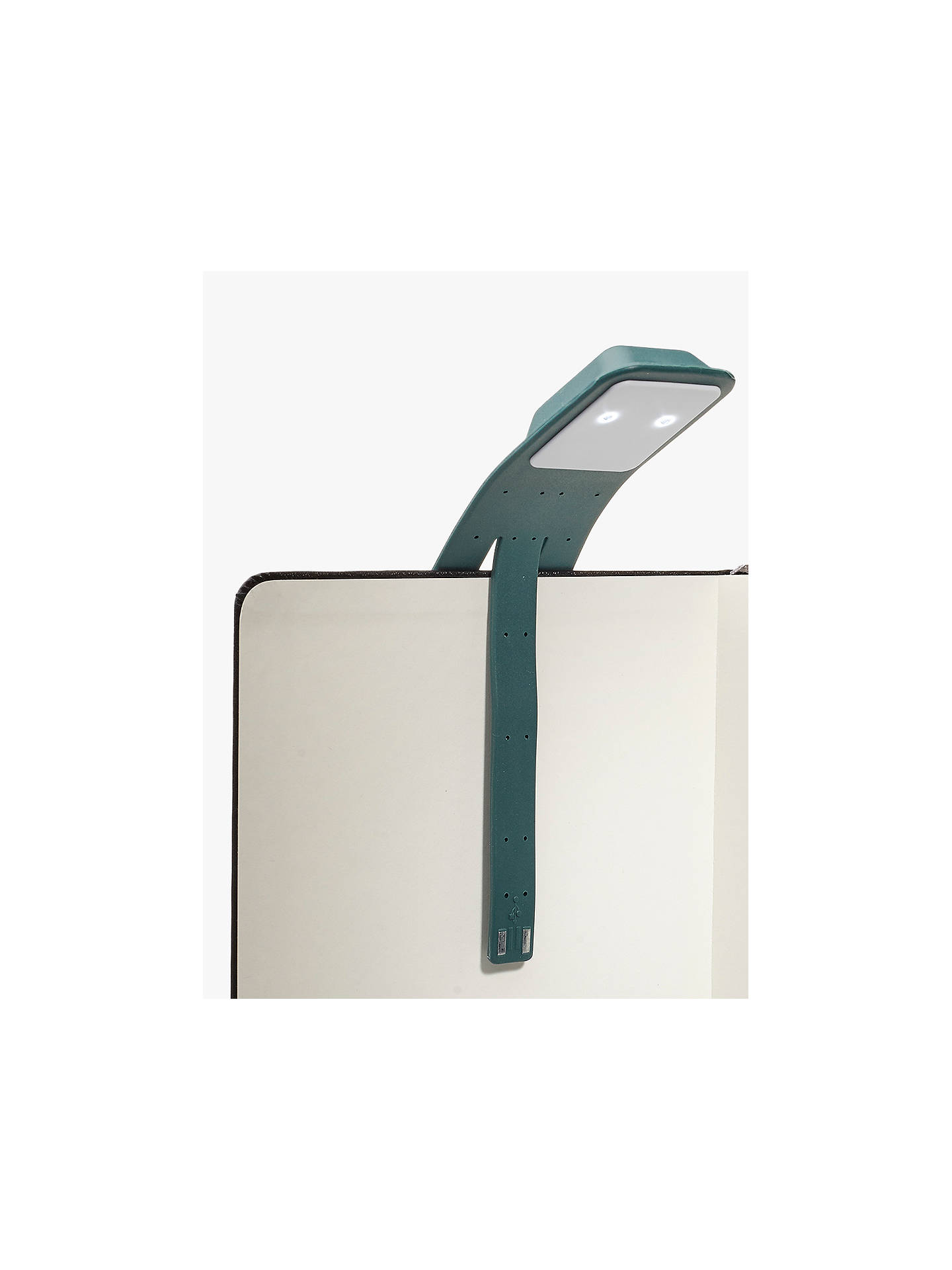 Buy Moleskine Clip-On Booklight, Forest Green Online at johnlewis.com