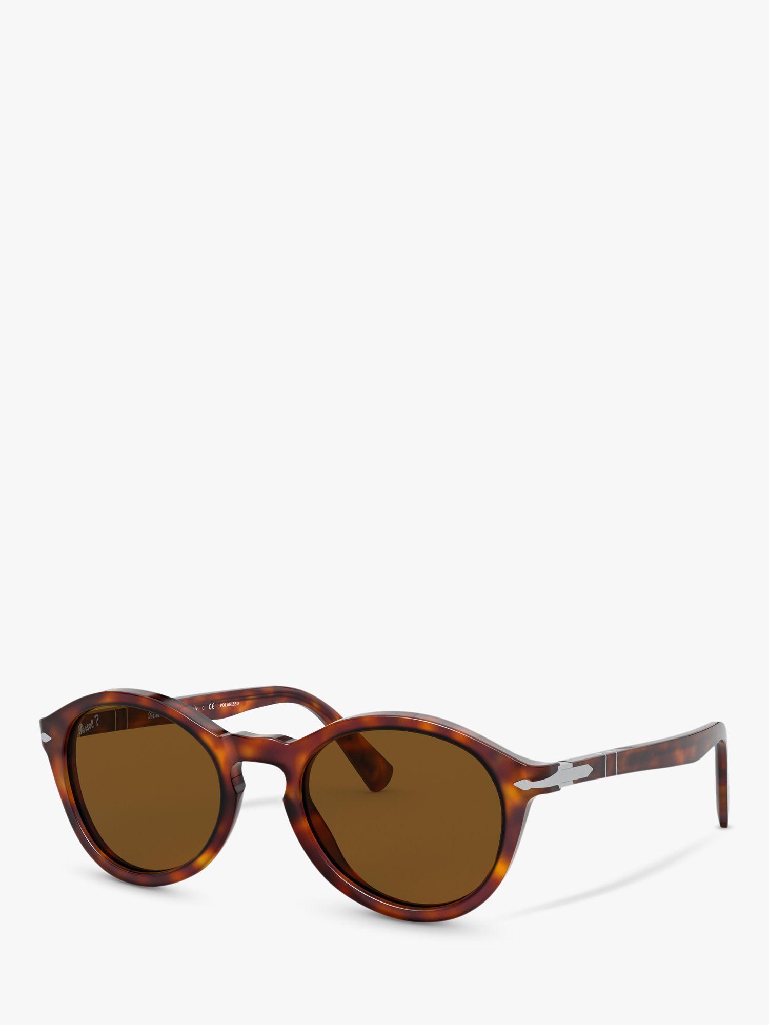 Persol Persol PO3237S Unisex Polarised Oval Sunglasses