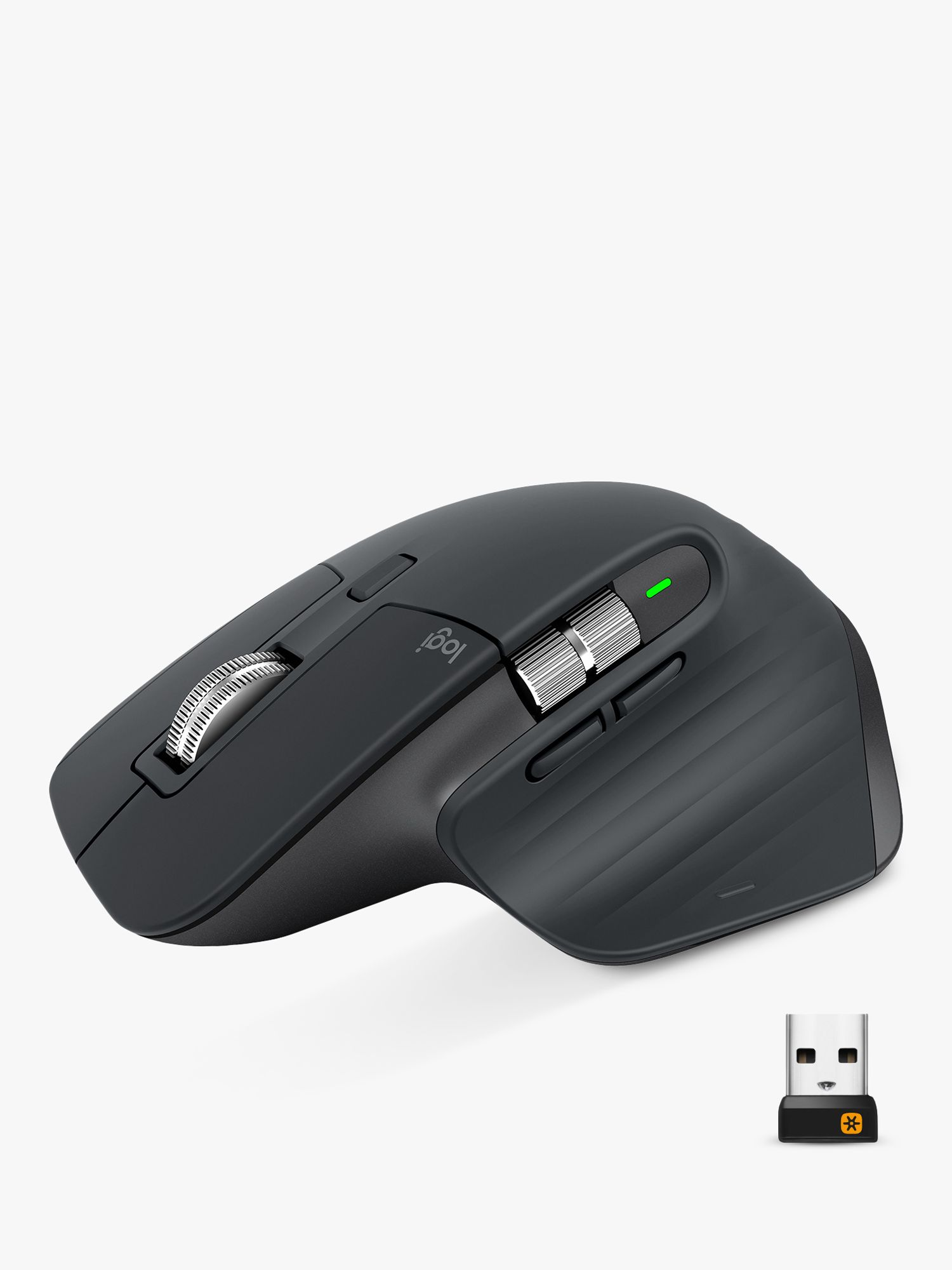 Logitech Logitech MX Master 3, Bluetooth Wireless Mouse, Black