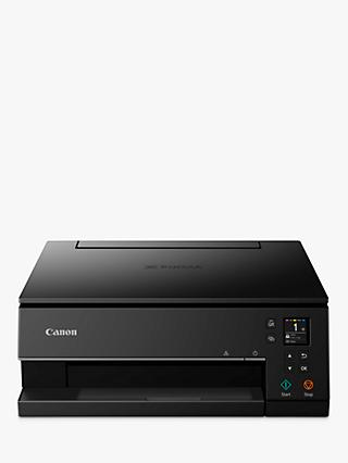 Canon PIXMA TS6350 Three-in-One Wireless Wi-Fi Printer, Black