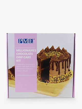 PME Millionaires Chocolate Drip Cake Decorating Kit