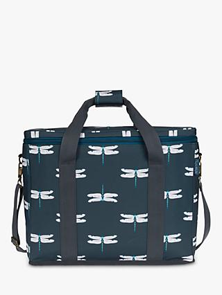 Sophie Allport Dragonfly Large Picnic Cooler Bag, Blue/Multi, 25L
