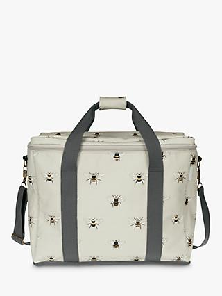 Sophie Allport Bee Large Picnic Cooler Bag, Natural, 25L