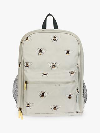 Sophie Allport Bee Filled Picnic Backpack, 4 Person, Natural
