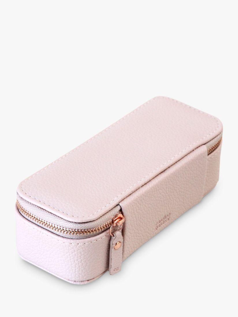Caroline Gardner Caroline Gardner Pink Slim Jewellery Box
