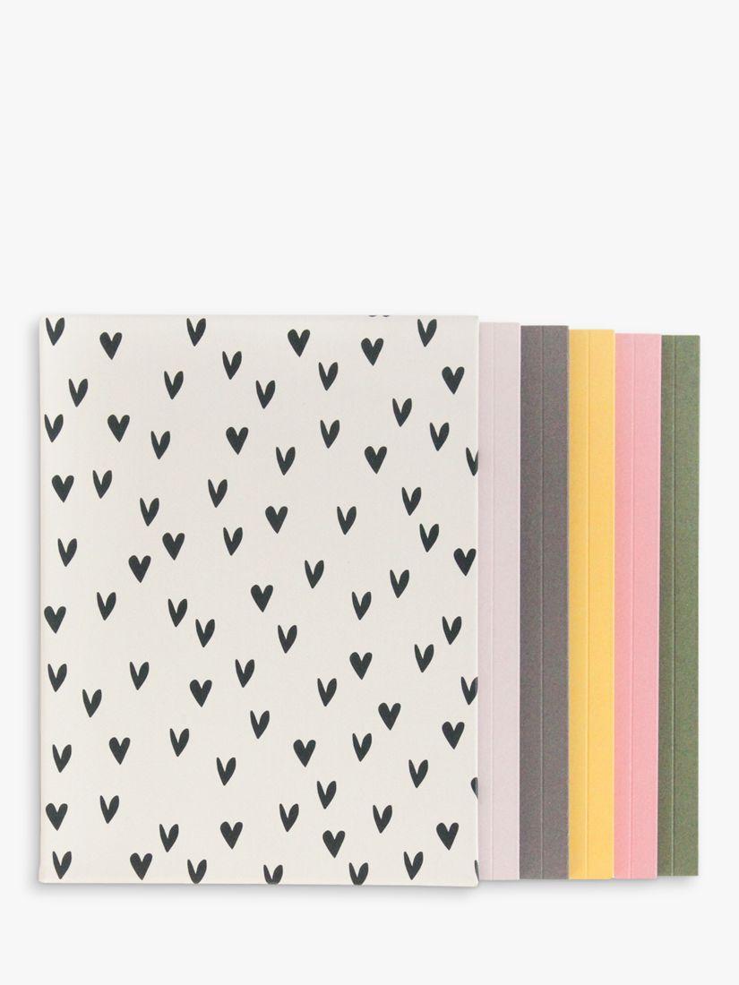 Caroline Gardner Caroline Gardner Heart Notebooks, Set of 5