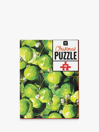 Buy Talking Tables Christmas Sprouts Jigsaw Puzzle, 100 Pieces Online at johnlewis.com