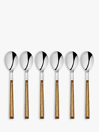 John Lewis & Partners Prism Teapsoons, Set of 6