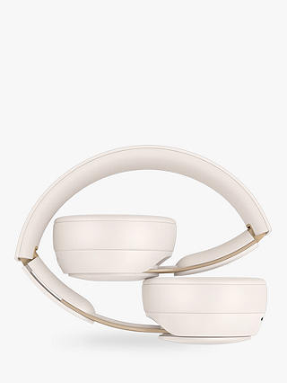 Buy Beats Solo Pro Wireless Bluetooth On-Ear Headphones with Active Noise Cancelling & Mic/Remote, Ivory Online at johnlewis.com