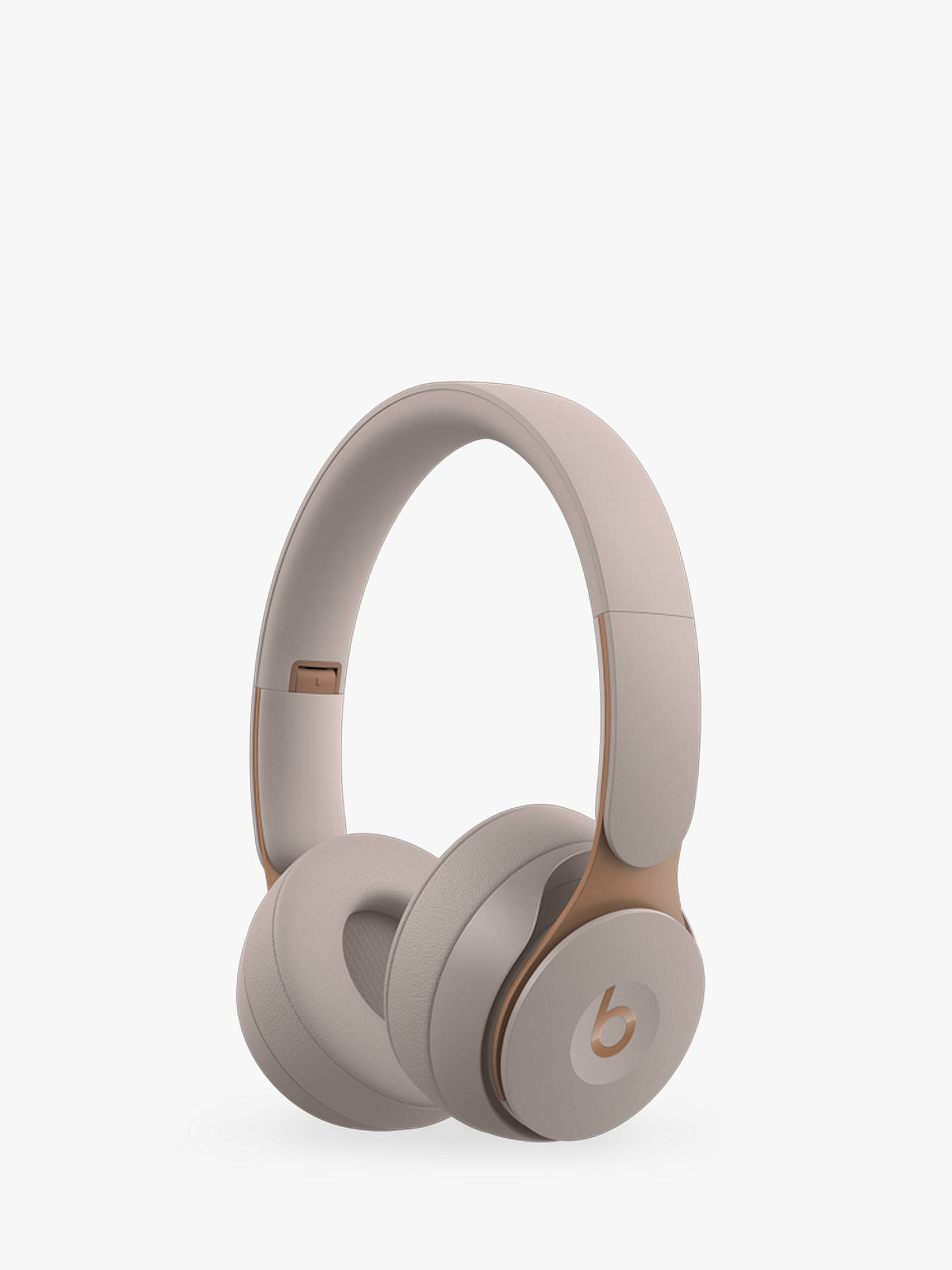 Buy Beats Solo Pro Wireless Bluetooth On-Ear Headphones with Active Noise Cancelling & Mic/Remote, Grey Online at johnlewis.com