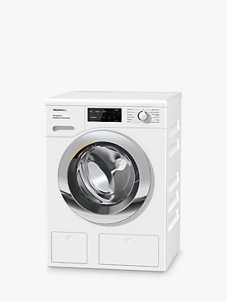 Miele WEI865 Freestanding Washing Machine, 9kg Load, 1600rpm, A+++ Energy Rating, White