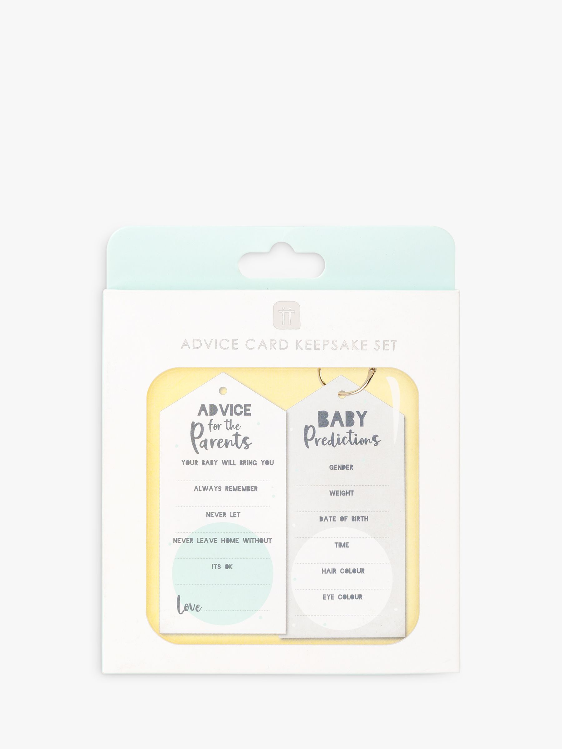 Talking Tables Talking Tables Baby Shower Advice Cards
