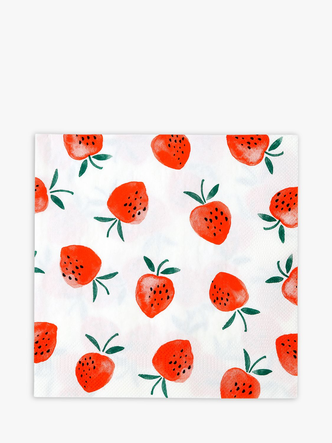 Talking Tables Talking Tables Strawberry Paper Napkins, Pack of 20