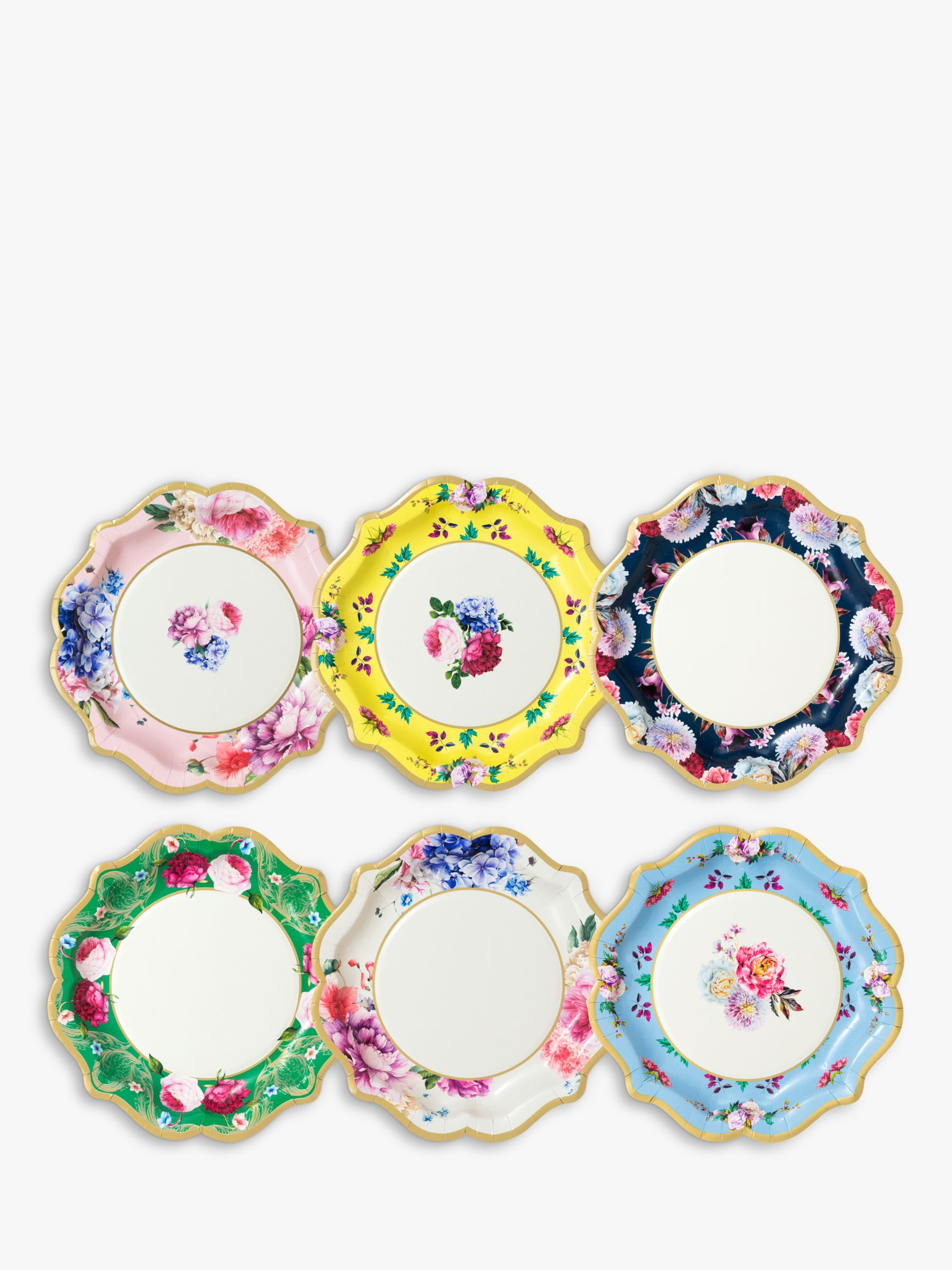 Talking Tables Talking Tables Truly Scrumptious Disposable Plates, Pack of 12