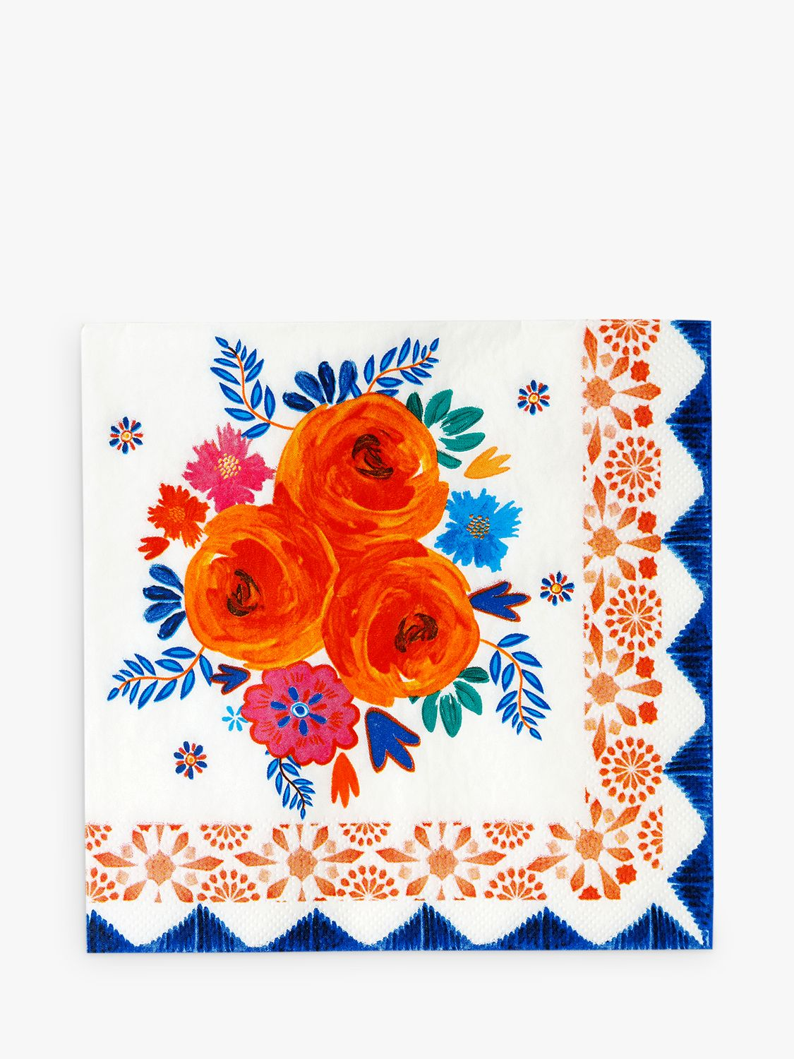 Talking Tables Talking Tables Floral Disposable Napkins, Pack of 20
