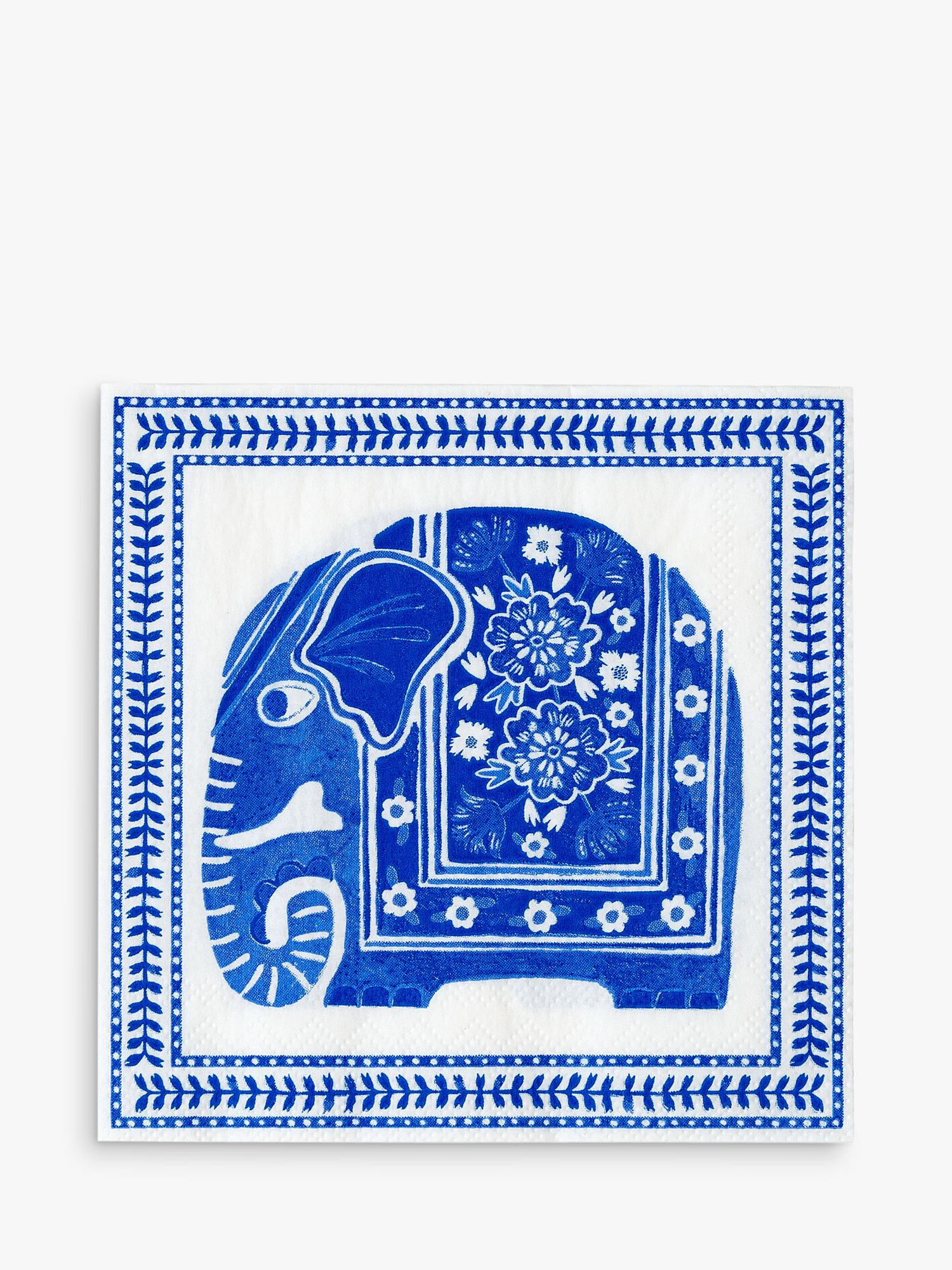 Talking Tables Talking Tables Elephant Disposable Napkins, Pack of 20