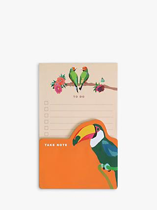 Emily Brooks Birds Memo Pads, Set of 2
