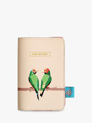 Emily Brooks Love Birds Passport Case