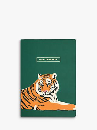 Emily Brooks B5 Wild Thoughts Tiger Notebook