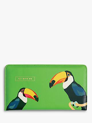 Emily Brooks Toucan Travel Wallet
