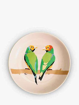 Emily Brooks Love Birds Ceramic Trinket Dish
