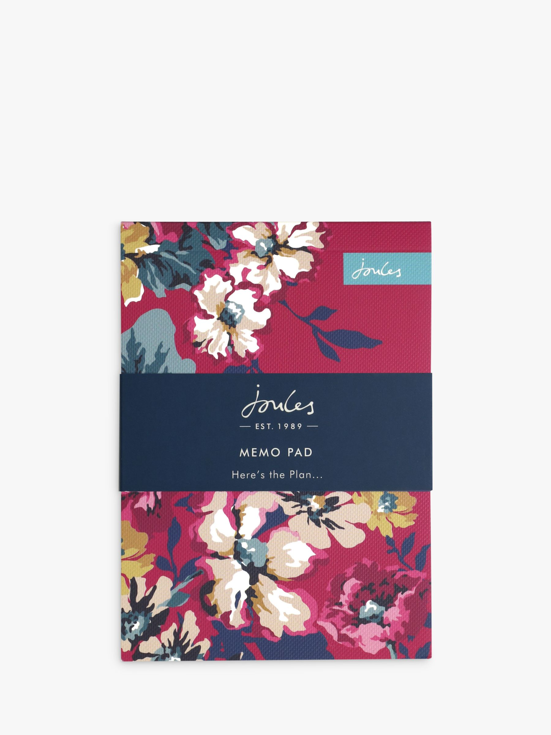 Joules Joules Cambridge Floral Chunky Memo Pad